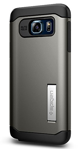 Spigen Slim Armor Designed for Samsung Galaxy Note 5 Case (2015) - Gunmetal