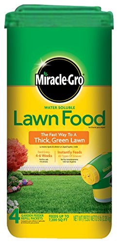 Miracle-Gro Water Soluble Lawn Food - 5 lbs (Not Sold in MD, NJ) (Miracle Gro Water Soluble Lawn Food)