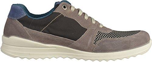 Jomos Herren Halbschuhe - Grau Schuhe in Übergrößen Grau