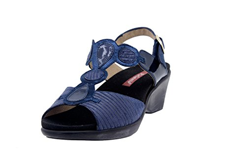 Manchester Venta en línea Calzado Mujer Confort de Piel Piesanto 6857 Sandalia Plantilla Extraíble Zapato Cómodo Ancho Venta de precio bajo Outlet Geniue Stockist 8oN1dl1UV