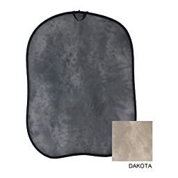 Lastolite LL LB56WD 5 x 6 Feet Collapsible Reversible Background (Washington/Dakota)