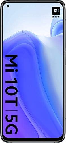 "Xiaomi Mi 10T 128GB, 6.67"" DotDisplay, 64MP Triple Rear Camera, 8K Video, 5000 mAh Battery LTE 5G Factory Unlocked Smartphone - International Version (Cosmic Black, 6GB RAM) WeeklyReviewer"