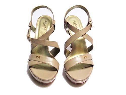 Nero Giardini - Sandalias de vestir de Piel para mujer beige neutro 38