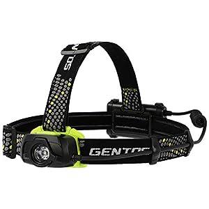 GENTOS(ジェントス) LED ヘッドライト 【明るさ320ルーメン/実用点灯12時間/耐塵/防滴】 GT-391D