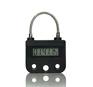 amazon com digital timer switch usb rechargeable time switch lock