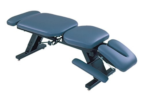 Image of ErgoBasic 00-9040 Hi-Lo Treatment Table with Soft Foam Top, 80' Length x 30' Width x 24' Height, 300 lb. Capacity Foam Rollers