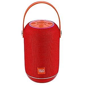 Haut-Parleur Portable Bluetooth étanche Voyage en Plein airHaut-Parleur Bluetooth sans Fil Rouge 152mmx99mm 8