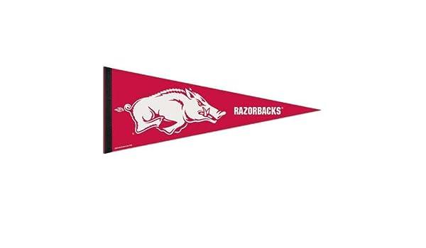 12 X 30 WinCraft NCAA 72302091 University of Arkansas Premium Pennant