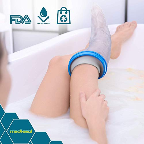 Waterproof Leg Cast Cover For Shower- Adult Size  Casts and - Import