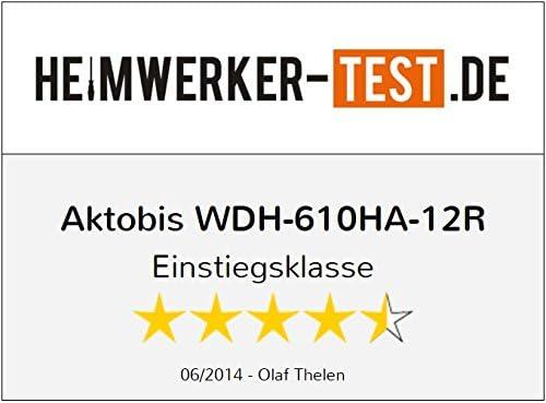 Aktobis Deshumidificador Secador de Construcci/ón WDH-610HA hasta 12 l//dia