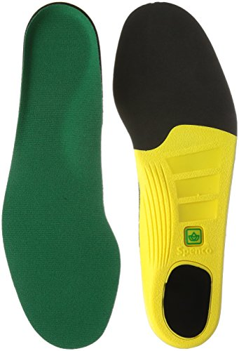 Spenco Polysorb Heavy Duty Maximum All Day Comfort and Support Shoe Insole, Women's 9-10.5/Men's 8-9.5 ()