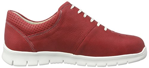 Mujer Finn Indianred Zapatillas Rot Rojo ComfortBarletta Axwq4Y8wE