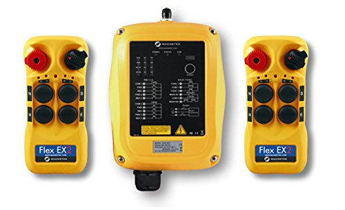 Magnetek Flex 4EX2 Radio Control System, Two Speed, Part No: (Overhead Crane Parts)
