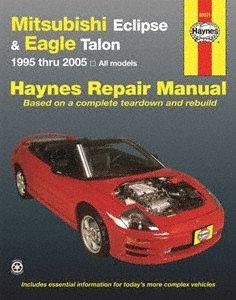Haynes Repair Manuals Mitsubishi Eclipse & Eagle Talon, 95-05 (68031)