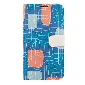 Conseguir Patrón de laberinto de dibujo de imitación de cuero cubierta de plástico duro bolsas para Samsung Galaxy Nota 2 N7100