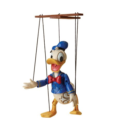 - Enesco Disney Traditions designed by Jim Shore Marionette Donald Duck Figurine 7.25 IN