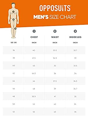 Opposuits Men's Patrick Party Costume Suit
