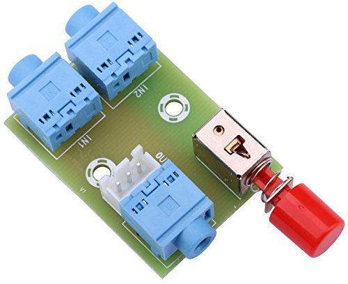 Yeeco Audio Switching Module, 3.5mm Audio Input Switch Board Output Select