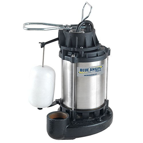 Blue Angel Pumps SSF33S 1/3 HP Premium Series Submersible Stainless Steel Sump Pump (Stainless Sump Steel Pump)