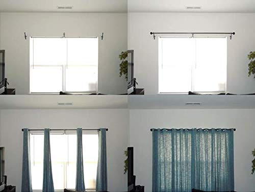SHK002S for Windows Without Top Window Trim Speedy Hang Curtain Bracket Starter Kit
