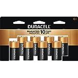 Duracell coppertop c alkaline batteries, 8-count