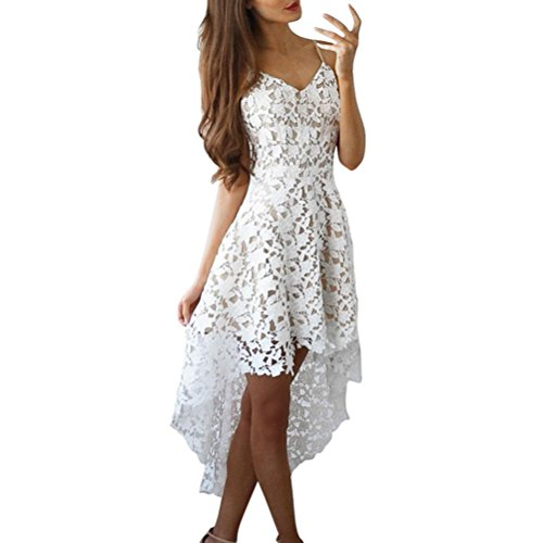 Totem Print Floral Mini Dress (White) - 9