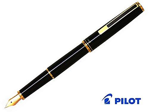 "Pilot fountain pen ""Custom"" Black FK-700R-B nib: EF (extr..."