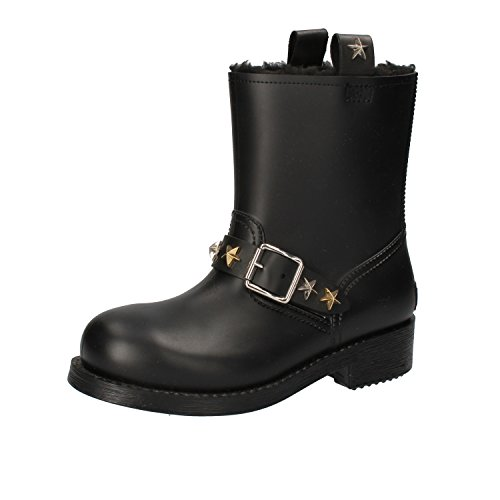 Just Cavalli Ankle 3 Boots Womens Black Rubber UK EU 36 rrpRxnwaZ