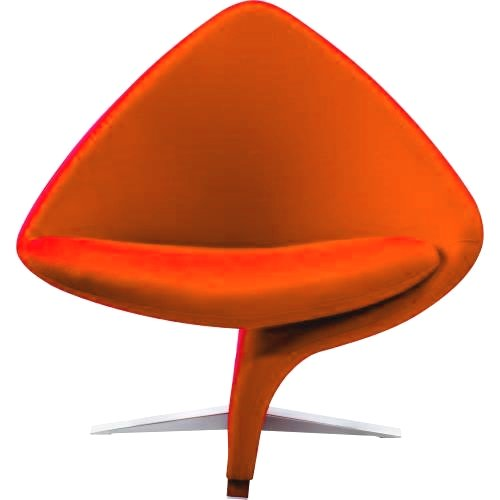 K&D Panache Occasional Chair (Orange)