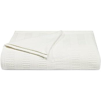 Amazon Com Nautica Rope Stripe Blanket Cotton Full Queen