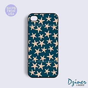 iPhone 4 4s Case - Blue Stars iPhone Cover