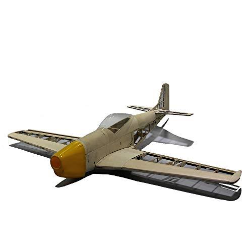 Mustang P51 1000mm Wingspan Balsa Wood Warbird RC Airplane -