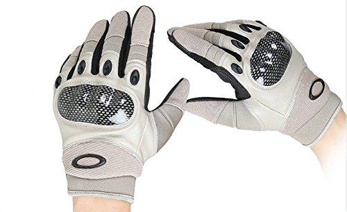 Weizhe Hygroscopic Anti-slip Anti-cut Riding Fitness Training Outdoor Full Finger Gloves