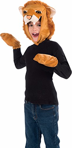 Forum Novelties Lion Hood and Gloves Child Costume