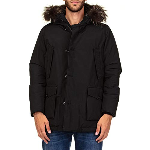 nera in poliammide Woolrich a Wocps2570cn01nbl Giacca Man vento UrYq0UHW