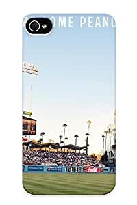 Marvelouscases Scratch-free Phone Case For Iphone 4/4s- Retail Packaging - Los Angeles Dodgers Baseball Mlbhs