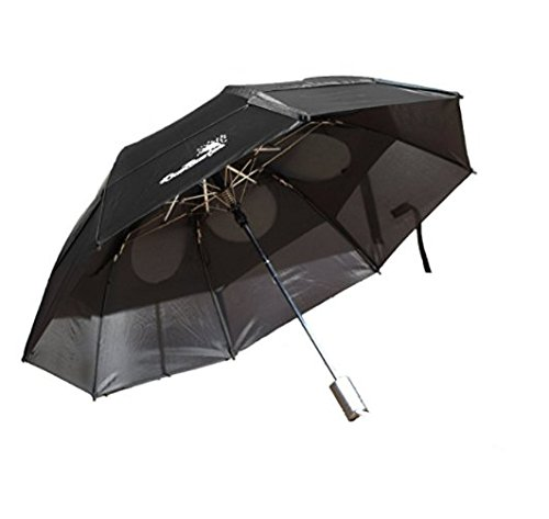 GustBuster Metro 43-Inch Automatic Umbrella, Signature Logo Collection, Black - Gustbuster Metro Umbrella