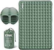 """ETROL Camping Sleeping Pad - 2in1 Color Inflating Camping Pads with Pillow (78""""x28""""), Lightweight Th"""