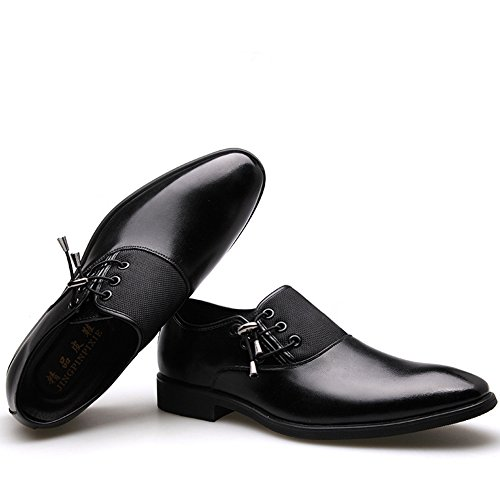 Men Oxford Shoes Black Brown Elegant Shoes Men Casual Dress Shoes Men Black
