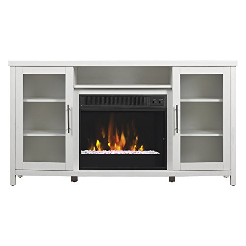 Classic Flame Rossville Entertainment Center with Electric Fireplace
