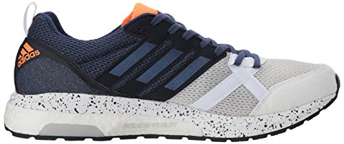 Adidas Performance Heren Adizero Tempo 9 M Hardloopschoen White / Noble Indigo / Core Black