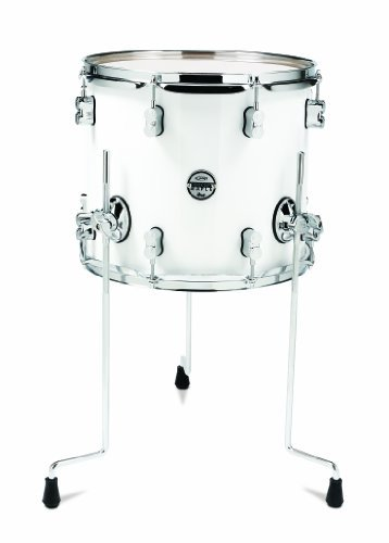 Pacific Drums PDCM1214TTPW 12 x 14 Inches Floor Tom with Chrome Hardware Pearlescent White [並行輸入品] B07BRN7W6F