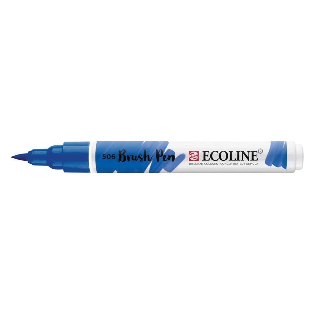 Ecoline Liquid Watercolor Brush Pen Ultram Dp Royal Talens