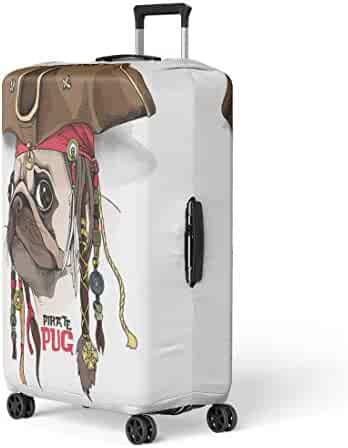 Pinbeam Luggage Cover Blue American Indian Tribal Graphics Native Headdress Chief Travel Suitcase Cover Protector Baggage Case Fits 22-24 inches
