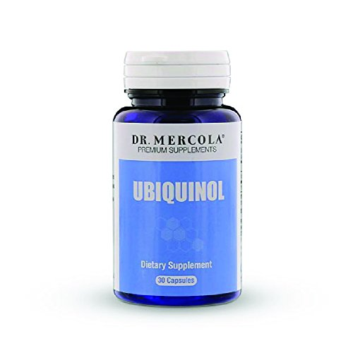 Dr. Mercola Ubiquinol 100mg - 30 Capsules - High Absorption CoQ10 Kaneka Antioxidant - For Heart Health Energy Boost & Muscle Pain Relief - Non GMO & Gluten Free