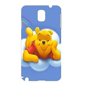Samsung Galaxy Note 3 N9005 Case Winne The Pooh 3D Cartoon Rainbow Back Protector Phone Case