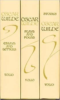 oscar wilde in vol box set stories plays poems essays oscar wilde in 3 vol box set stories plays poems essays letters folio society 1993