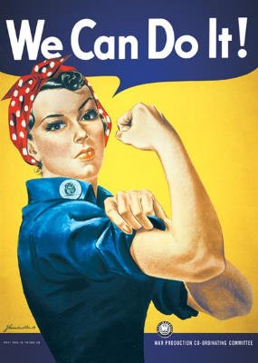 we can do it poster - 2