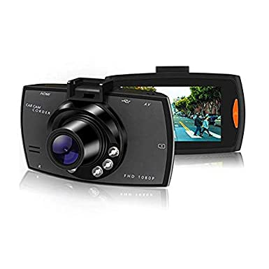Car DVR Audio Camera Dash Cam G30 by Meir Online, LLC Full HD 1080P 170 Degree Car Dash w/Night Vision
