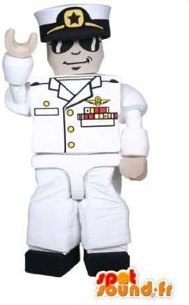 Mascotte SpotSound Amazon de piloto de Playmobil avion. Costume ...